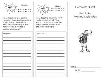 Journeys Houghton Mifflin Common Core Florida Unit 4 Trifolds/ 4th Grade