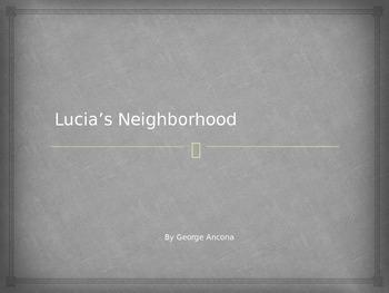 Houghton Mifflin Harcourt Journeys 1st grade Lucia's Neighborhood