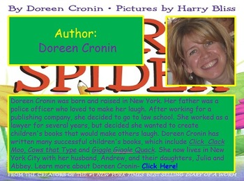 Journeys 2014 Grade 2 Diary of a Spider PowerPoint