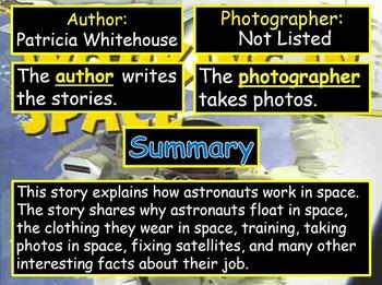 Journeys 2014 Grade 2 Working in Space PowerPoint