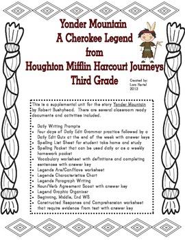 Houghton Mifflin Harcourt Journeys 2014 Grade 3 Yonder Mountain