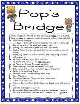 Houghton Mifflin Harcourt Journeys 2014 Grade Three Pop's Bridge