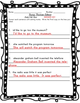 Houghton Mifflin Harcourt Journeys 2014 Grade 3 Young Thomas Edison