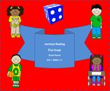 Houghton Mifflin Harcourt Journeys First Grade Board Games