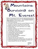 Houghton Mifflin Harcourt Journeys Grade 3 Mountains Surviving On Mt. Everest