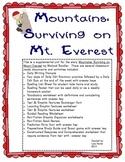 Houghton Mifflin Harcourt Journeys Grade 3 Mountains Surviving On Mt. Everest