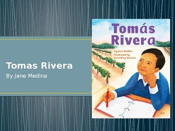 Houghton Mifflin Harcourt Journeys Tomas Rivera 1st grade power point