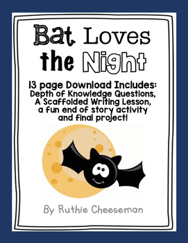 Houghton Mifflin Journey's: Bat Loves the Night