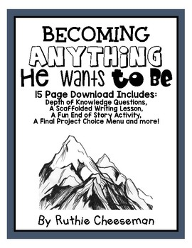 Houghton Mifflin Journey's: Becoming ANYTHING He WANT to BE!
