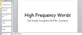 Houghton Mifflin Journeys 2nd Grade High Frequency Words Bundle