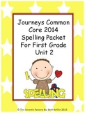 Journeys 2014 First Grade Spelling Packet Unit 2