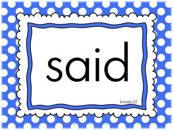 Journeys 2014 Kindergarten Sight Word Slide Show