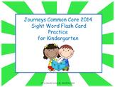 Journeys 2014 Kindergarten Flash Cards (Sight Words)