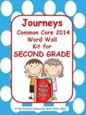 Journeys 2014 Second Grade Word Wall (Polka Dot)