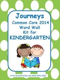 Journeys 2014 Kindergarten Sight Word Wall (Polka Dot)