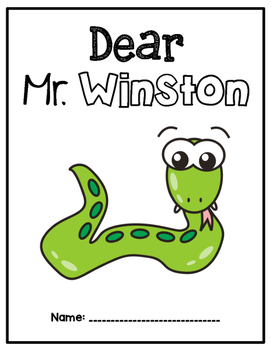 Houghton Mifflin Journeys: Dear Mr. Winston