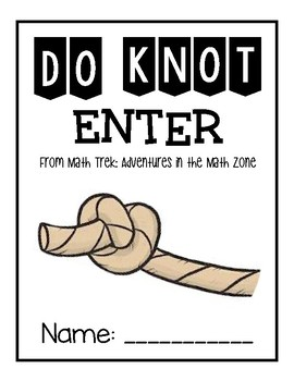 Houghton Mifflin Journeys: Do KNOT Enter