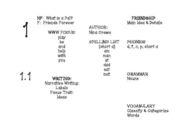 Houghton Mifflin Journeys File Folder Organizers