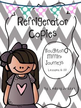 Houghton Mifflin Journeys Grade 1 Unit 2 Refrigerator Copies