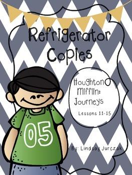 Houghton Mifflin Journeys Grade 1 Unit 3 Refrigerator Copies