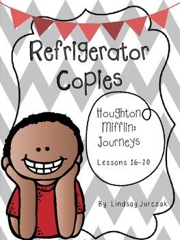 Houghton Mifflin Journeys Grade 1 Unit 4 Refrigerator Copies