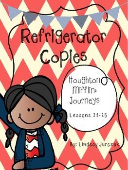 Houghton Mifflin Journeys Grade 1 Unit 5 Refrigerator Copies
