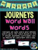 Houghton Mifflin Journeys - Grade 1 Word Wall Words