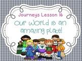 Lesson 16: Houghton Mifflin Journeys 3rd Grade for SMART Board