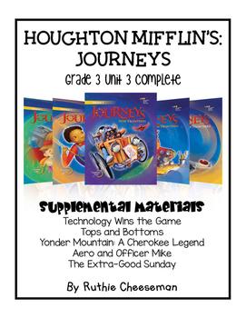 Houghton Mifflin Journeys: Grade 3 Unit 3