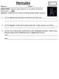 Houghton Mifflin Journeys Grade 4 Hercules
