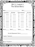 Houghton Mifflin Journeys Grade 6 Weekly Assessment Student Answer Key
