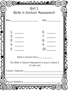 Houghton Mifflin Journeys Grade 6 Weekly Assessment Student Answer Key