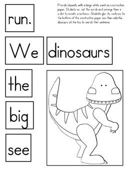 Journeys Lesson 20 Kindergarten Supplemental Materials