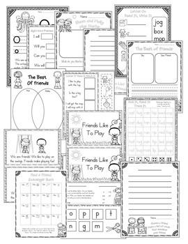 Journeys Lesson 21 Kindergarten Supplemental Materials