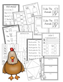 Journeys Lesson 5 Kindergarten Supplemental Materials