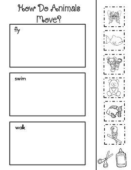 Journeys Lesson 8 Kindergarten Supplemental Materials