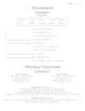Journeys - HMH © 2011/2012 Grade 4 Lessons 1-30 Study Sheets
