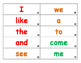 Houghton Mifflin Journeys Sight Word Flash Cards