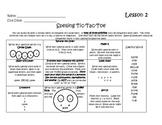 Houghton Mifflin Journeys Third Grade Spelling Tic Tac Toe