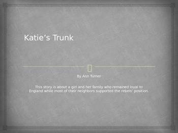 Houghton Mifflin Katie's Trunk Vocabulary Power Point