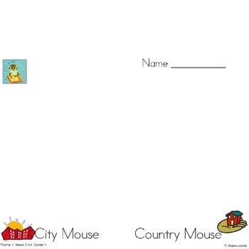 Houghton Mifflin Kindergarten Language Arts Centers HM Themes 1-10