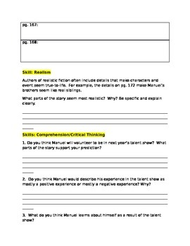 Houghton Mifflin La Bamba Skills packet