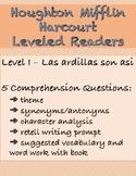 Houghton Mifflin Leveled Readers - Spanish Level I
