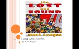 Houghton Mifflin Lost and Found Vocabulary Power Point and Four Square