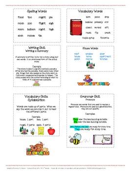Houghton Mifflin Mini-Focus Wall Theme 7 Weeks 1-3