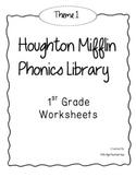 Houghton Mifflin Phonics Library: 1st Grade BUNDLE!! Themes 1-10