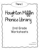 Houghton Mifflin Phonics Library: 2nd Grade BUNDLE!! Themes 1-6