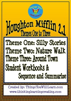 Silly Stories, Nature Walk, Around Town Bundle (Themes 1 to 3)