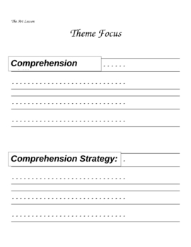 Houghton Mifflin Reading 2nd Grade Theme 6 Focus Portfolio / Folder