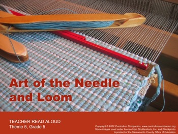 Houghton Mifflin Reading Gr 5 Art of the Needle and Loom C